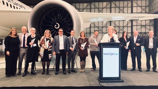 Top Premium Air Sales Winners, Westjet Airlines 2019