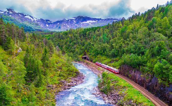 Bergen Line in Norway