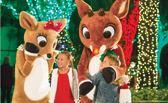 Rudolph's ChristmasTown at SeaWorld Orlando.