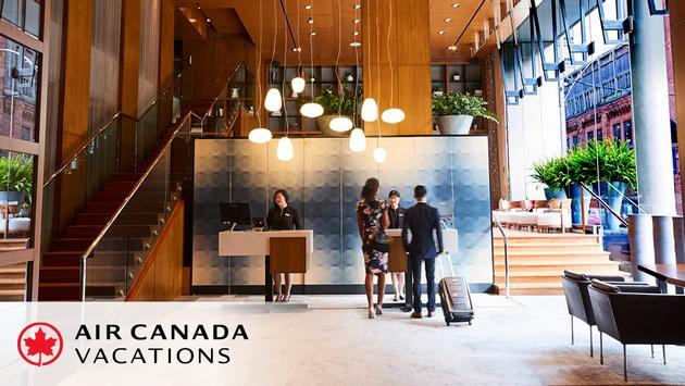 Air Canada Vacations and Group Germain Hotels