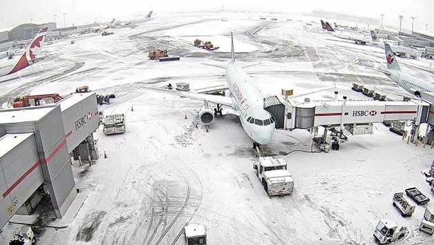 Toronto Pearson Ice Storm