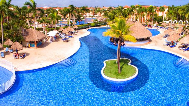 Grand Bahia Principe Punta Cana main pool.