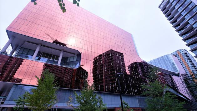 Parq Vanocuver es un magnífico hotel y casino en el centro de Vancouver.