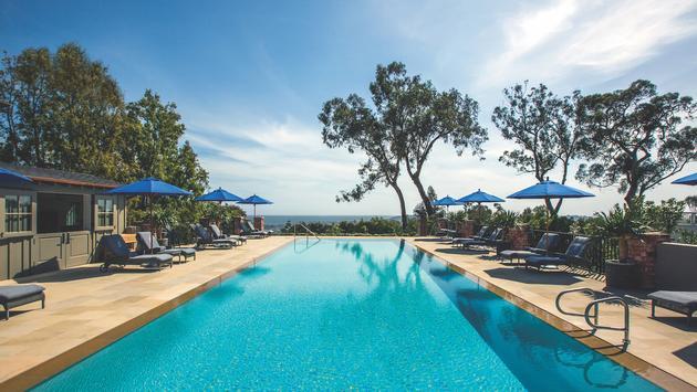 Belmond El Encanto Santa Barbara pool