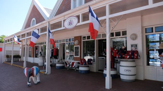 Shopping in Franschhoek, South Africa