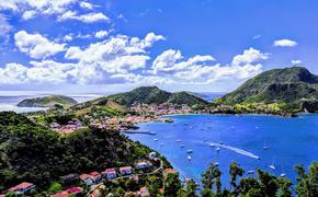 Les Saintes Bay in Guadeloupe, Caribbean