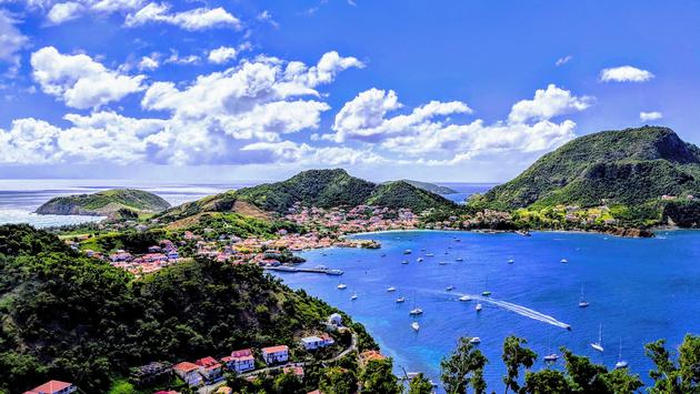 Les Saintes Bay in Guadeloupe, Caribbean