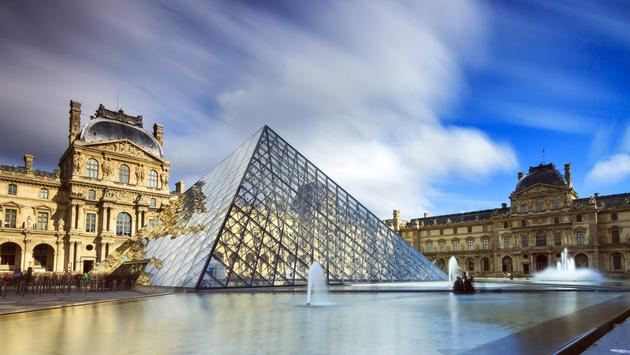 The Louvre; Paris, France
