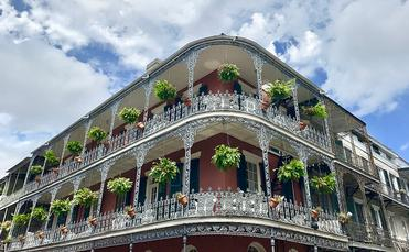 Elegant architecture in New Orleans
