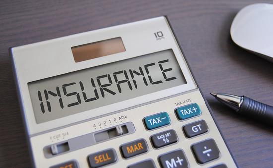 Insurance on calculator display