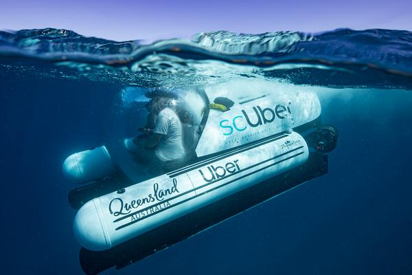 Ridesharing Goes Underwater with scUber Submarine Voyages