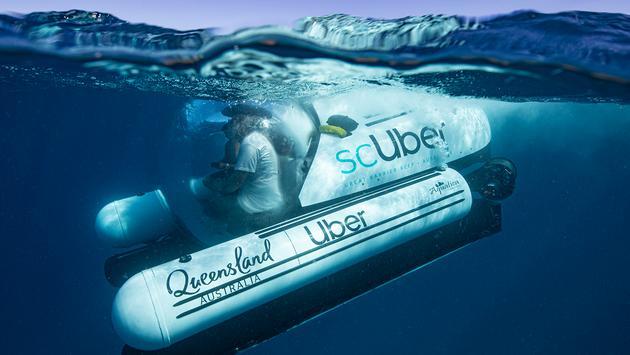 scUber Submarine Descending