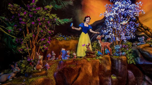 Snow White's Enchanted Wish at Disneyland.