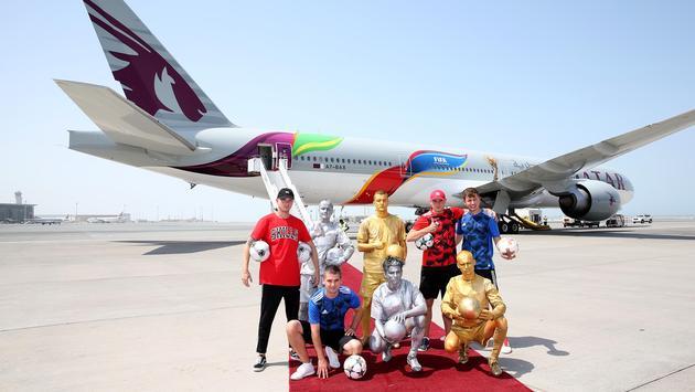 Qatar, airways, plane