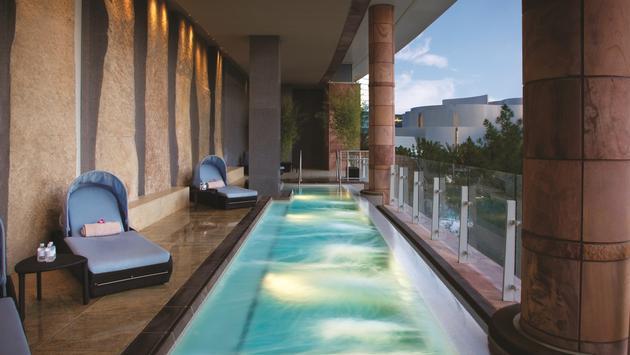 Spa & Salon balcony pool at ARIA Resort & Casino Las Vegas