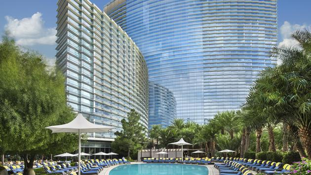 Sky Pool at ARIA Resort & Casino Las Vegas