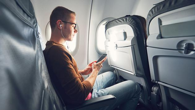 Cellphone in the airplane