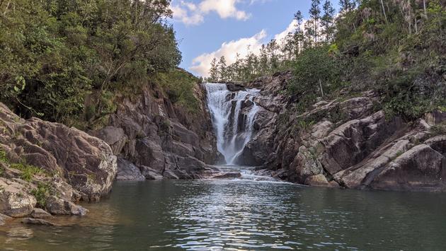 Big Rock Falls, waterfalls, Belize