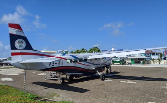 Tropic Air, Belize, planes