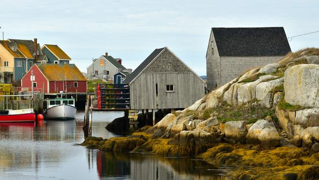 Peggy's Cove Nova Scotia Canada (Greenseas / iStock / Getty Images Plus)