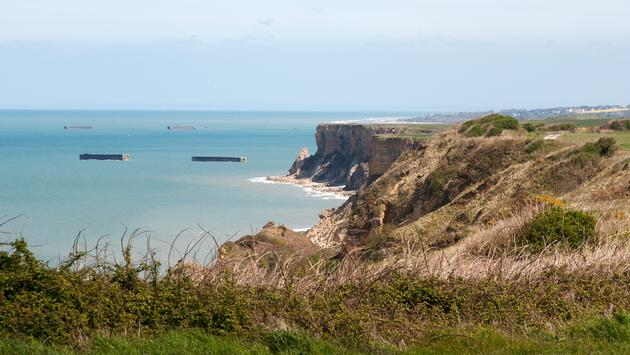 Experience the Beaches at Normandy and Europe's Famed Battlegrounds by Bike