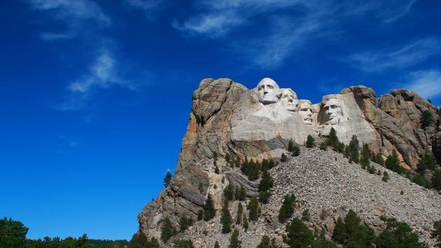 Mount Rushmore National Monument in Rapid City SD