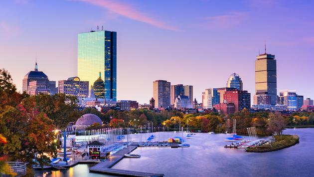 Boston, Massachusetts, USA skyline. (photo via SeanPavonePhoto / iStock / Getty Images Plus)