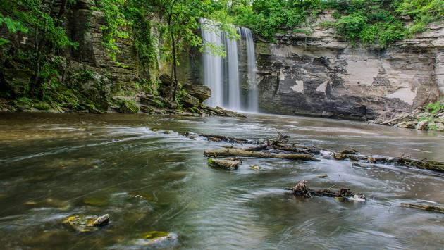 Minneopa state park Water Fall (photo via ramesh1502 / iStock / Getty Images Plus)