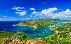Caribbean view from Shirley Heights, Antigua and Barbuda. (Photo via Sean Pavone Photo / iStock / Getty Images Plus)