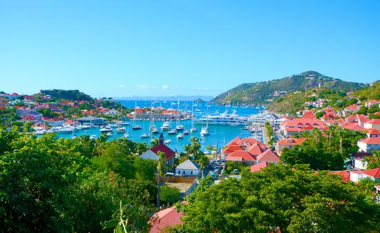 St Barths island, Caribbean sea (photo via yanta / iStock / Getty Images Plus)