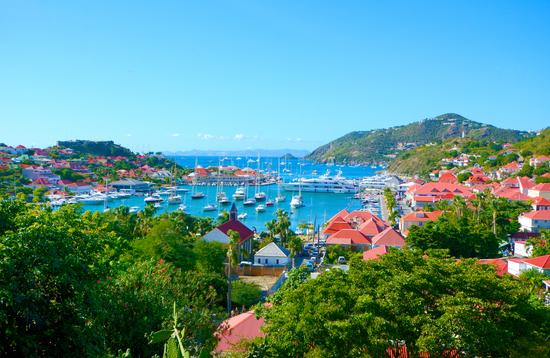 St Barths island, Caribbean sea (photo via yanta / iStock / Getty Images Plus)