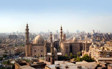 Cairo skyline, Egypt (photo via mikdam / iStock / Getty Images Plus)