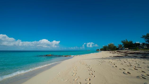 bimini Bahamas island beach (Photo via DIRDPKC / iStock / Getty Images Plus)