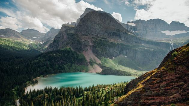 Grinnell Glacier at Glacier National Park, Montana. (JeanMarieBiele / iStock / Getty Images Plus)