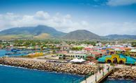 Port Zante in Basseterre town, St. Kitts And Nevis (photo via mikolajn / iStock / Getty Images Plus)