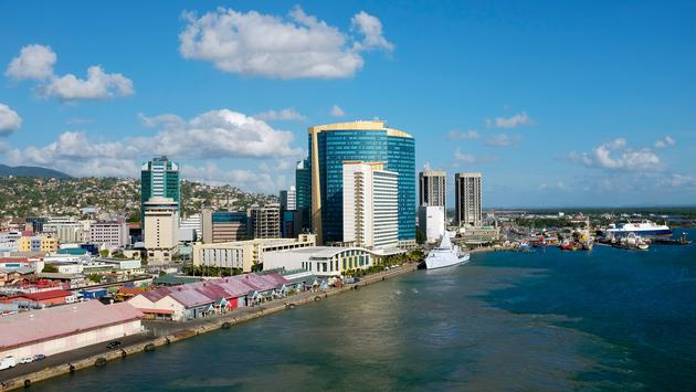 King's Wharf - view from ship- in Trinidad and Tobago (photo via CaraMaria / iStock / Getty Images Plus)