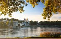 Avignon Bridge with Pope