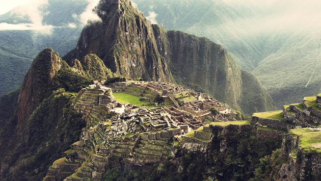 The lost Incan city in Peru (Photo via MartinBisof / iStock / Getty Images Plus)