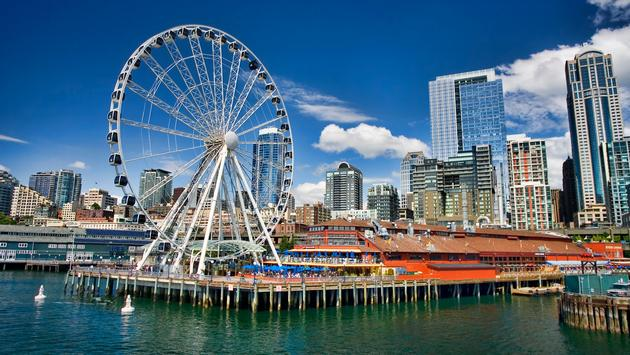 A sunny early summer day in Seattle, Washington. (photo via fotoguy22 / iStock / Getty Images Plus)
