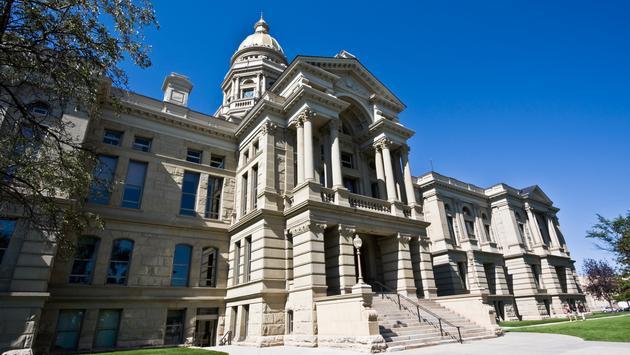 Cheyenne, Wyoming - State Capitol (Photo via benkrut / iStock / Getty Images Plus)