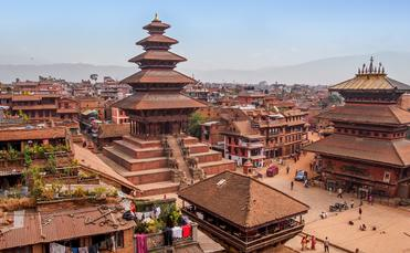 Bhaktapur is a UNESCO world hertage site in the Kathmandu Valley, Nepal. (Hakat / iStock / Getty Images Plus)