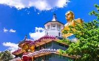 Holy temple at Dambula, Sri Lanka