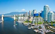 Beautiful view of Vancouver, British Columbia, Canada (photo via mfron / iStock / Getty Images Plus)