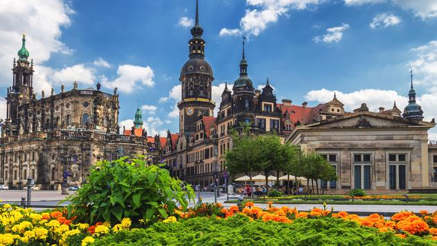 The ancient city of Dresden, Germany. Historical and cultural center of Europe. (photo via DaLiu / iStock / Getty Images Plus)