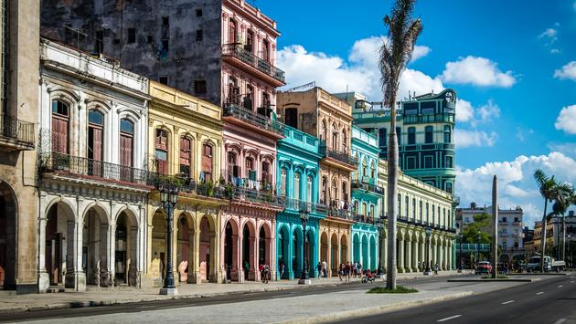 Old Havana downtown Street - Havana, Cuba (Photo via diegograndi / iStock / Getty Images Plus)