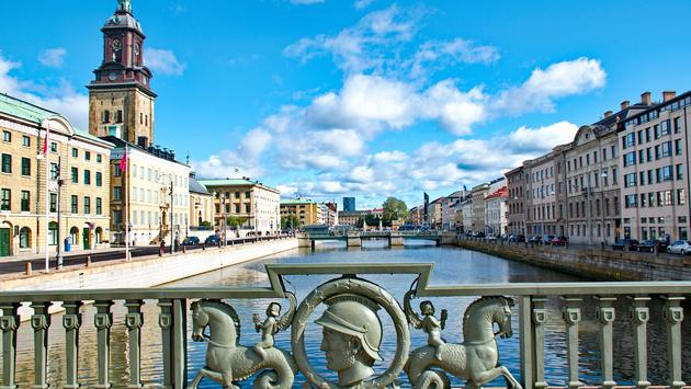 Gothenburg city in Sweden (photo via anderm / iStock / Getty Images Plus)