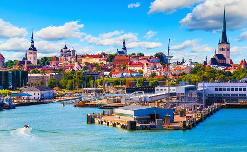 Tallinn, Estonia (photo via scanrail / iStock / Getty Images Plus)