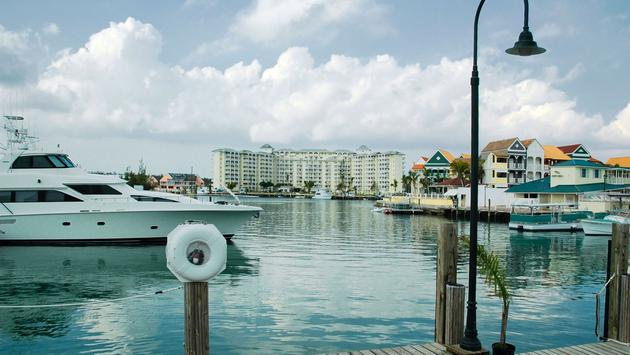 Marina and Water Front at Free Port, Grand Bahama (photo via dani3315 / iStock / Getty Images Plus)