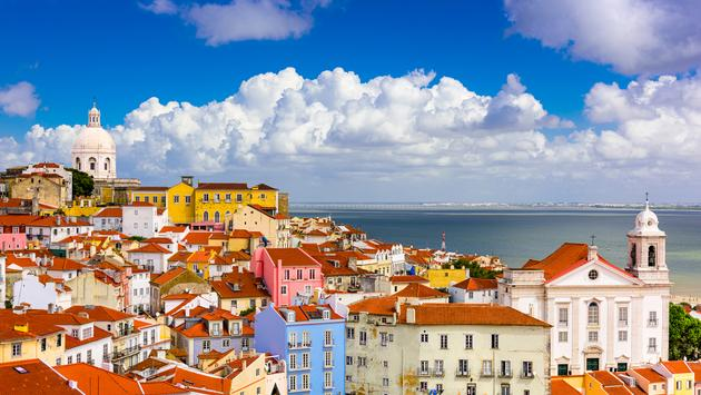 Lisbon, Portugal cityscape in the Alfama District. (Photo via SeanPavonePhoto / iStock / Getty Images Plus)
