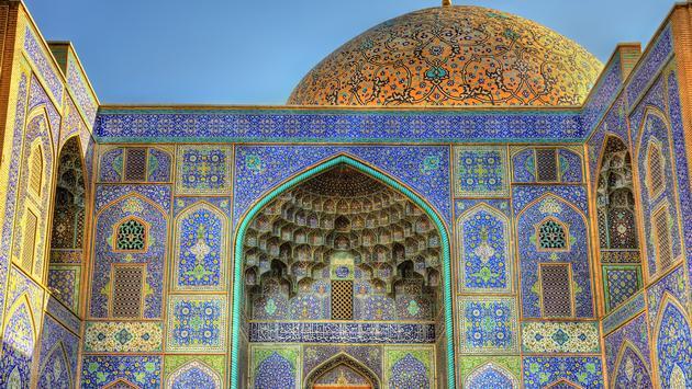 Sheikh Lotfollah Mosque on Naqsh-e Jahan Square of Isfahan, Iran (Photo via Leonid Andronov / iStock / Getty Images Plus)
